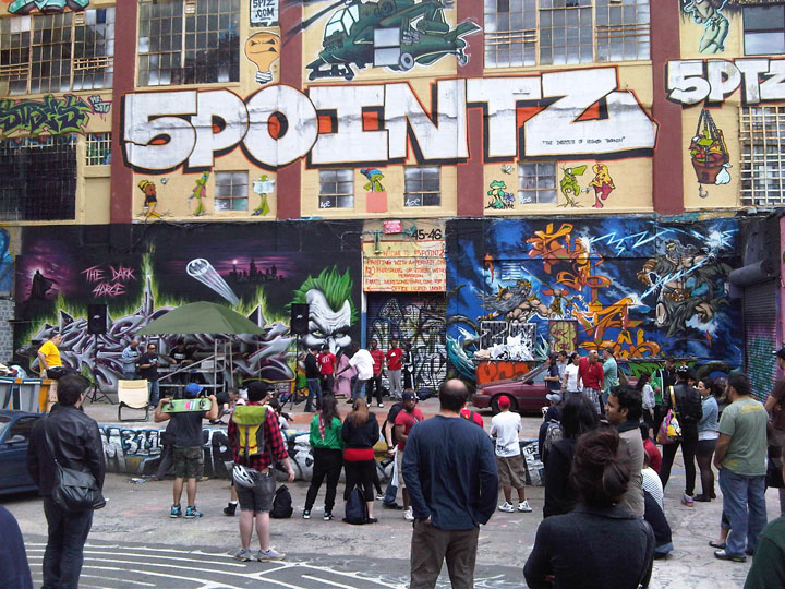 5 Pointz Opening Day