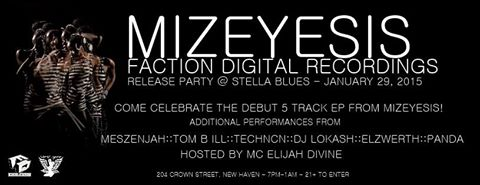 Mizeyesis EP release party